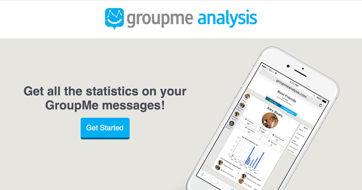 Groupme Analysis